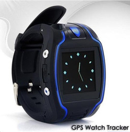 Wholesale Wrist Watch GPS Car Tracker Quad Band SOS Cell phone SMS Message GSM GPS tracking system with free web based tracking