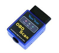 Wholesale ELM327 Interface V1 Bluetooth OBDII OBD2 Auto Car Diagnostic Scan Tool ELM OBDII