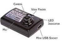 Wholesale 60 degrees Mini DV High Definition Digital Video Camera Motion detection Webcam function Super Tiny