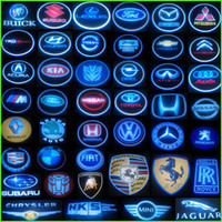 Wholesale car Decoration Projection logo door step LED light Laser Shadow Light For Chevro let