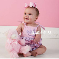 layer cake - Baby girl clothes Baby Clothing Bodysuits amp One Pieces baby s Rompers Pink Layers Cake Jumpsuits