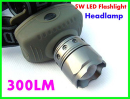 Wholesale Best price HeadLamp W LM Led Zoomable CREE Headlight Flashlight Torch factory price