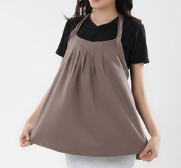 Wholesale regnant women dress brown cheap hot sell women Maternity Clothing