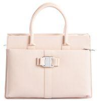 Wholesale Ladies Cute PU Leather Handbag Bow Organizer Business Career Briefcase Document Bags Portfolio