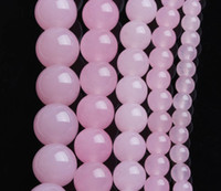 Wholesale Natural pink crystal beads Bulk natural crystal beads Jewelry accessories