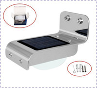 Wholesale 16 LED Solar Lamp Outdoor Garden Induction Light Motion Sensor Mah