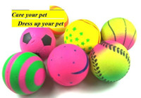 Wholesale Elastic ball rubber ball pet toys ball dogs toys cat toys pet products