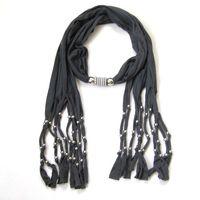 Wholesale New Fashion Hot Sale Women Scarf Gray Scarves Woman s Necklace Ladies Fashion Pendants LK2231