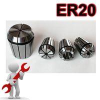 Wholesale ER20 Spring Collet Chuck Set for CNC Mill