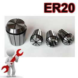 Wholesale ER20 Spring Collet Chuck Set for CNC Mill