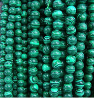 Wholesale 4 MM Natural malachite round beads gemstone loose beads fashion jewelry for bracelets