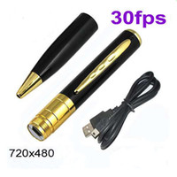 Wholesale HD Mini Spy Camera DVR Pen Video Hidden Recorder Camcorder Card Slot Support Up To GB
