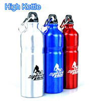 Wholesale Outdoor sports water bottles High quality kettle ml aluminum kettle