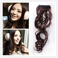 Wholesale Hot Selling Clip in Matte Curly Hair Extension Prolong Hair Pieces High temperature Fiber Neo Wave