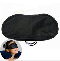 black   Game and training activities goggles nap break eye mask shade sleeping cover blindfold free shipping