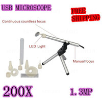 Wholesale Mini Portable X USB Digital Microscope Endoscope Otoscope with LED For Multipurpose
