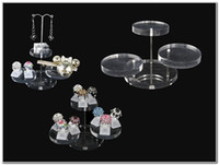 acrylic risers - 3 Tier Clear Acrylic Jewelry Display Stand Riser