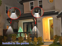 Wholesale Solar Power Motion Sensor Detector LEDS Outdoor Light Home Security Lamp