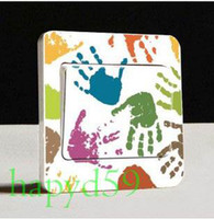 Wholesale 50pcs decoration light wall sticker decorative GP power cover switch sticker model for choosing