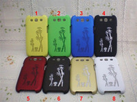 Wholesale Panda Lucky Bamboo Dracaena sanderiana Matt Hard Plastic Back Case For Samsung Galaxy S3 i9300