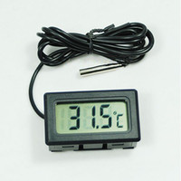 Wholesale x New Aquarium LCD Digital Thermometer Fish Tank Water