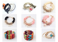 South American Women's Alloy New Pop Bracelets 9 Different Styles Of A Package, Suitable For A Small Amount Of Mixed