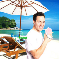 Wholesale Mini fan No leaves air condition hand held fan USB battery amphibious by China product Quick