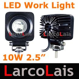 1PC 10W LED Work Light Lamp Bulb OffRoad 12V 24V 10-30V Car Truck ATV Spot Flood Working Lights