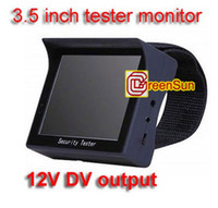 Wholesale 3 inch color Monitor CCTV Camera test Tester Wearable Pouch Allows Hands Free