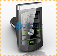 Wholesale New inch LED Wireless Car Kit MP3 Player Built In Car Stereo FM Transmitter support TF Micro SD Card