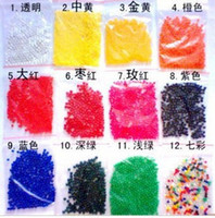 Wholesale 9000g pack Magic Plant Crystal Soil Mud Water Beads Pearl ADS Jelly Crystal ball soil O