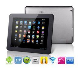 9.7 Pouces Android 4.0 Tablette PC Ramos W22PRO Amlogic Cortex A9 Dual Core à 1,5 GHz et 1 go de RAM 16 GO Webcam