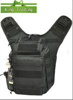 Wholesale Multil purpose Sport Army Waist Bag Professional Camera Bag Fashion DSLR Camera Bag Black