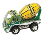 Wholesale Construction vehicles DIY D paper models D three dimensional puzzle