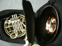 Wholesale NEW Chinese Brand CTE key double French Horn Golden with case