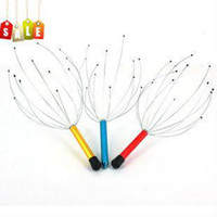 Wholesale head before neck scalp massager massaging claw items with full quality stainless steel wire relxing