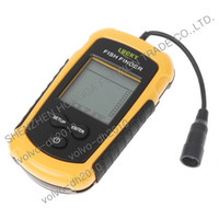Wholesale 100m Portable Sonar Sensor Fish Finder Alarm Transducer