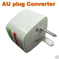 ac power converters - 10pcs US UK EU to AU AC POWER PLUG ADAPTER TRAVEL CONVERTER