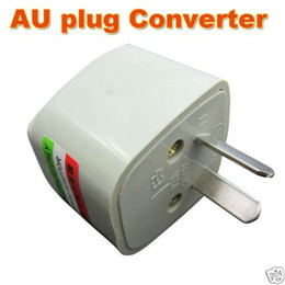 Wholesale 10pcs US UK EU to AU AC POWER PLUG ADAPTER TRAVEL CONVERTER