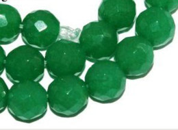 Wholesale 8mGreen Emerald Faceted Round Loose Bead m