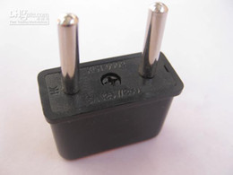 Wholesale US to EU AC Power Plug Converter Travel Adapter USA to European H803