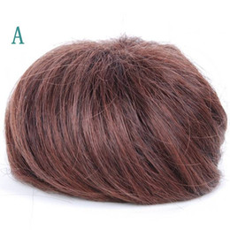 Wholesale Direct Buckle Ball Hair Wig Bun High Temperature Fiber Hair piece Headwear Two Optional Colors