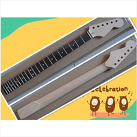 Wholesale NEW china high quality Unfinished electric guitar neck oem pcslot in stock