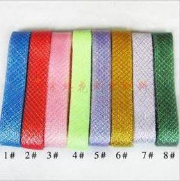 Wholesale 4 cm of colorful elastic band florist wedding celebration supplies