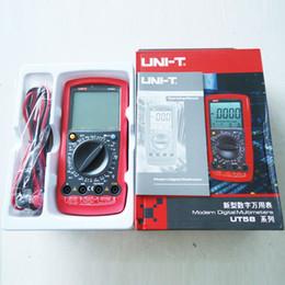 Wholesale UNI T UT58C Volt Amp Ohm Hz Temperature Digital Multimeter