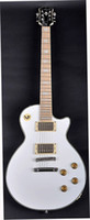 6 Strings baritone electric guitar - best Newest china White Wide Electric Guitar Baritone Scale in stock