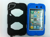 Wholesale plastic silicone Case cases Cover for IPOD TOUCH ITOUCH TH G Gen