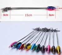 Wholesale FreeShip Fishing Tool New RIG Group Attack Stainless Steel Body Lures Baits Tackle Hook
