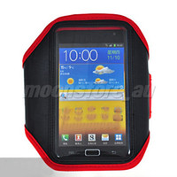 Textile n7000 case - For SAMSUNG GALAXY Note S2 SII N7000 I9220 Captain Armband Case Sports Arm Case Cover