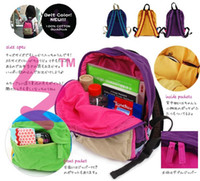 Wholesale 100 Cotton Kids Shoulder Bags Baby Bag Backpacks Handbag Student Satchels For T DIM CM